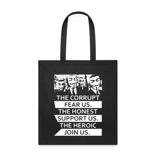 Anonymous 5 - Tote Bag