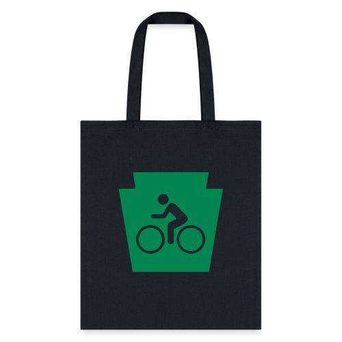 PA Keystone w/Bike (bicycle) - Tote Bag