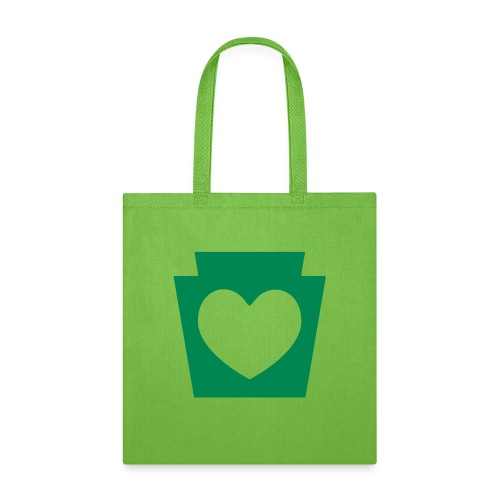 Love/Heart PA Keystone - Tote Bag