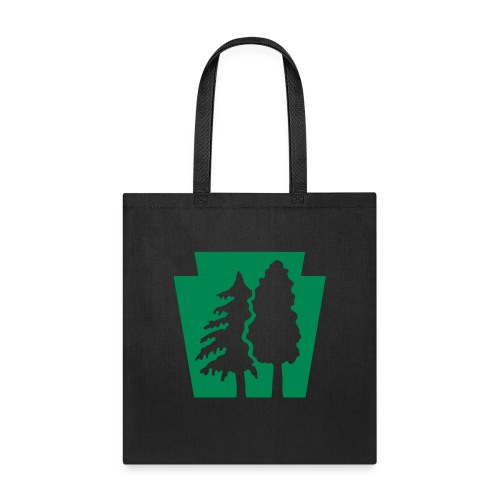 PA Keystone w/trees - Tote Bag