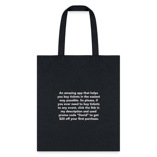 Promo Code David - Tote Bag