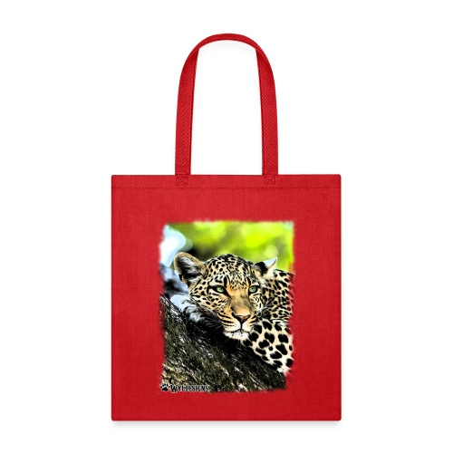 Leopard On A Tree - Tote Bag