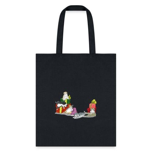 cutie cutie cats - Tote Bag