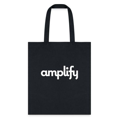 amplify logo// white - Tote Bag