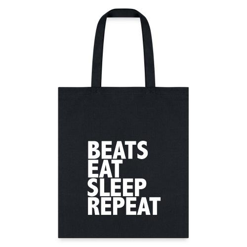 beatsrepeat png - Tote Bag