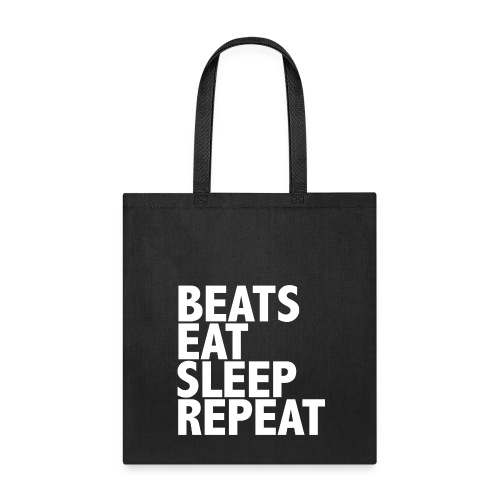 beatsrepeat png - Tote Bag