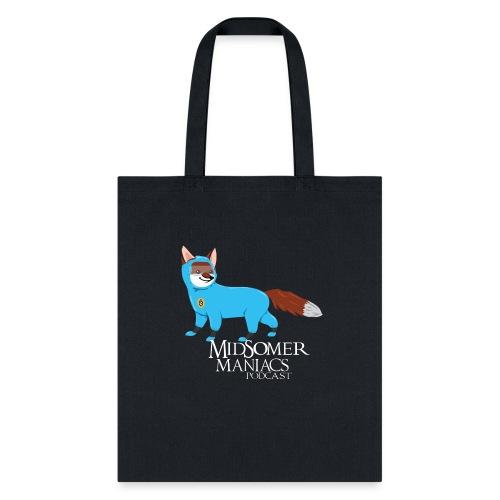 Midsomer Maniacs - SOCO Fox light text - Tote Bag