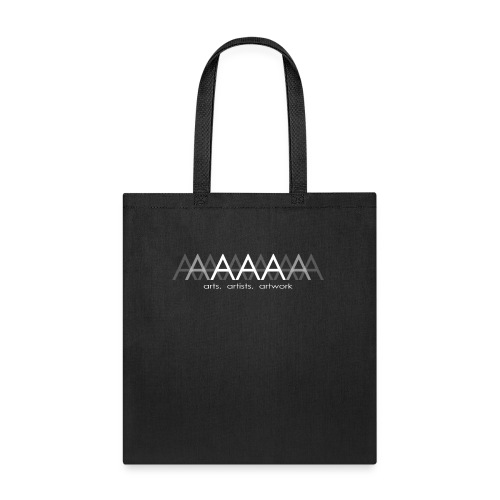 ArtsArtistsArtwork White Brand Logo - Tote Bag