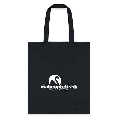 makeupfetishh logo white - Tote Bag