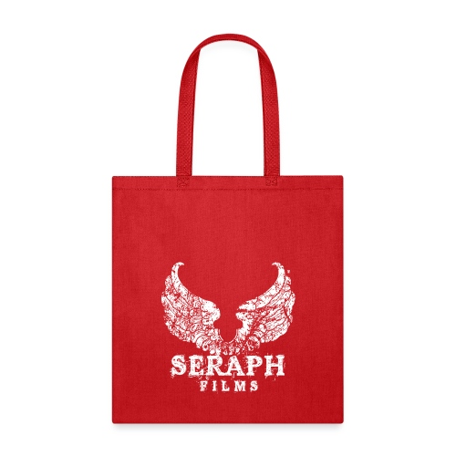 Seraph Films Square Logo White - Tote Bag