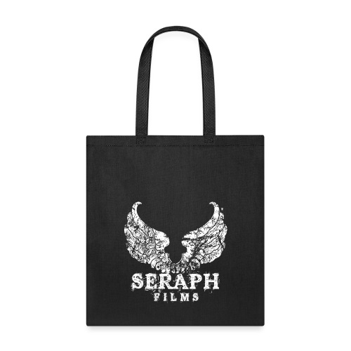 Seraph Films Square Logo White - Tote Bag