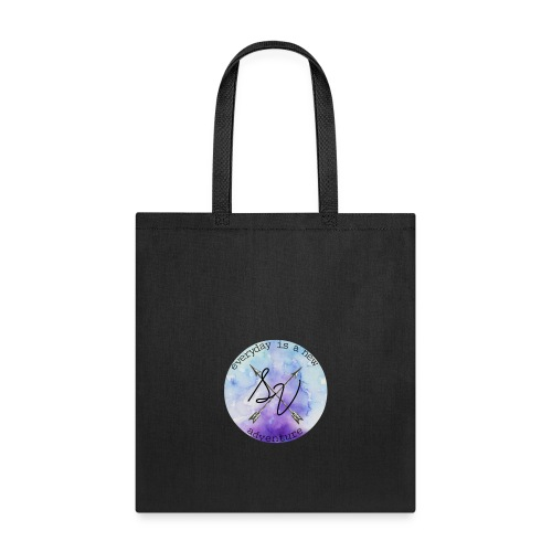 everyday is a new adventure logo - Tote Bag