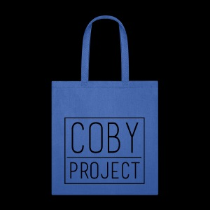 coby logo blk - Tote Bag