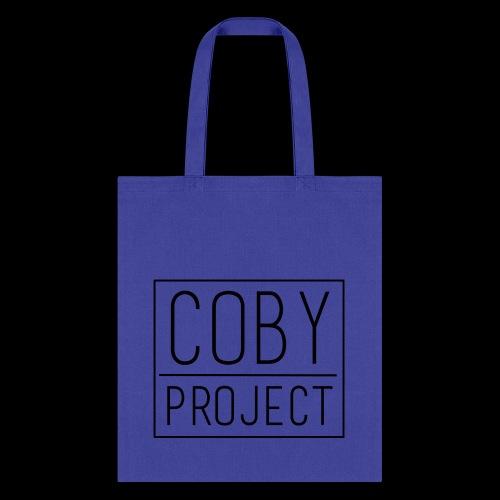 coby logo blk - Tote Bag