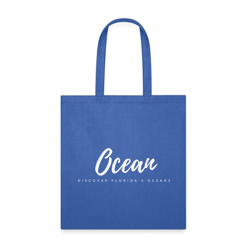Discover Florida's Oceans - Tote Bag