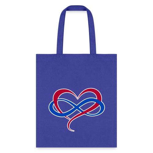Polyamory Infinity Heart - Tote Bag