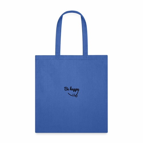 be happy smile sticker - Tote Bag