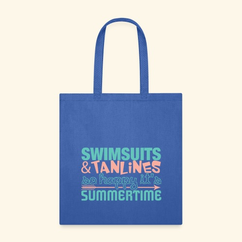 Swimsuits and Tanlines - Tote Bag