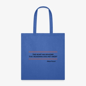 Blaise Pascal - Quote - Tote Bag