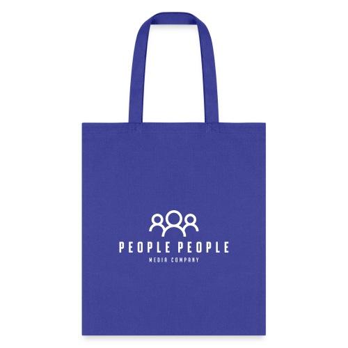 People People Media Co Logo White - Tote Bag