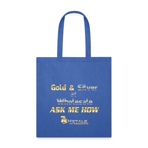 gold and silver at wholesale - Tote Bag