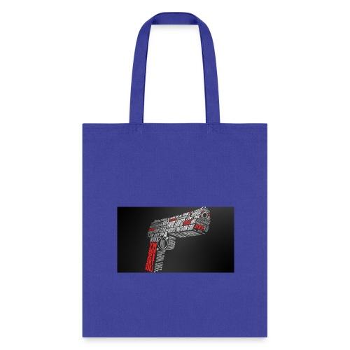 gun art 1 - Tote Bag