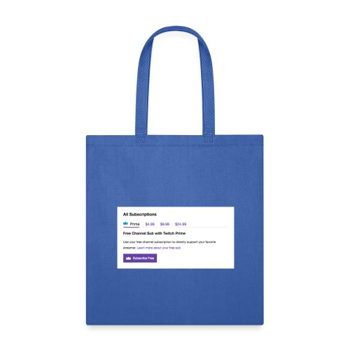 twitch prime - Tote Bag