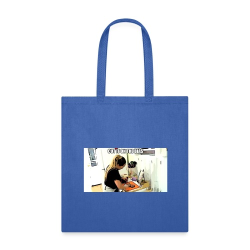 Cut it on the bias - Tote Bag