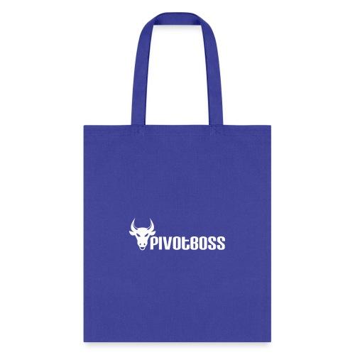 PivotBoss White Logo - Tote Bag