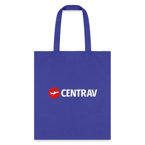 White Centrav Logo - Tote Bag