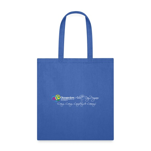 DAY PROGRAM LOGO WHITE - Tote Bag