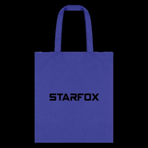 STARFOX Text - Tote Bag
