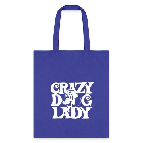 Crazy dog lady - Tote Bag