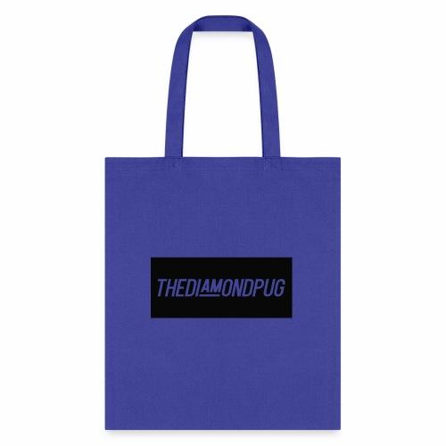 TheDiamondPug Rectangle - Tote Bag