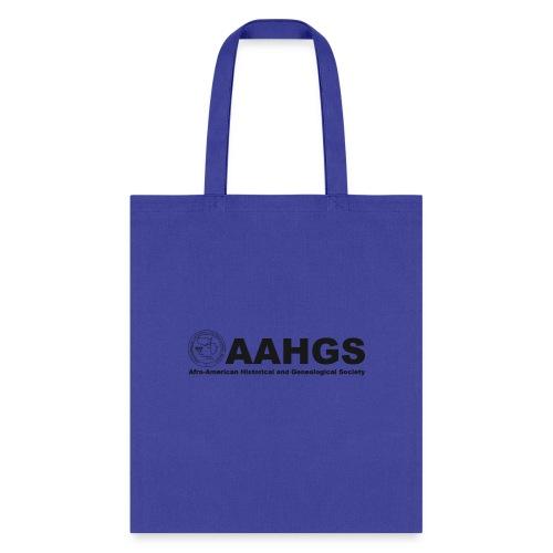 AAHGS Full Logo (black) - Tote Bag