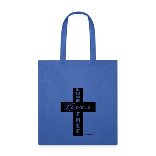 LLF Cross Tee - Tote Bag