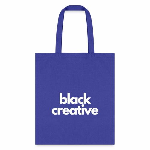 black creative-white - Tote Bag