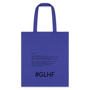 glhf - Tote Bag