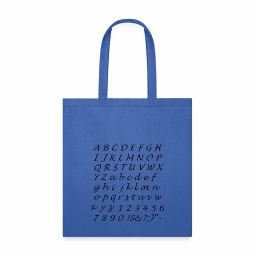 ABCD… T-shirt - Tote Bag