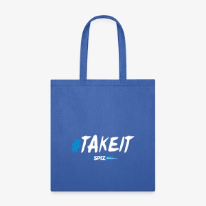 #takeit white - Spizoo Hashtags - Tote Bag