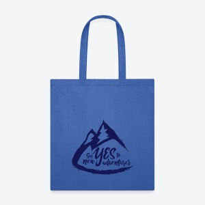 Say Yes to Adventure - Dark - Tote Bag