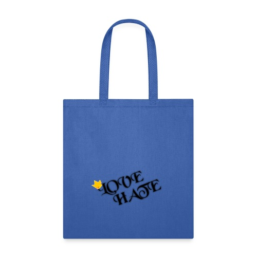 LOVE HATE - Tote Bag