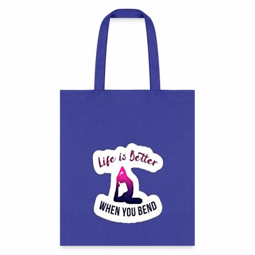 Yoga design apparels - Tote Bag