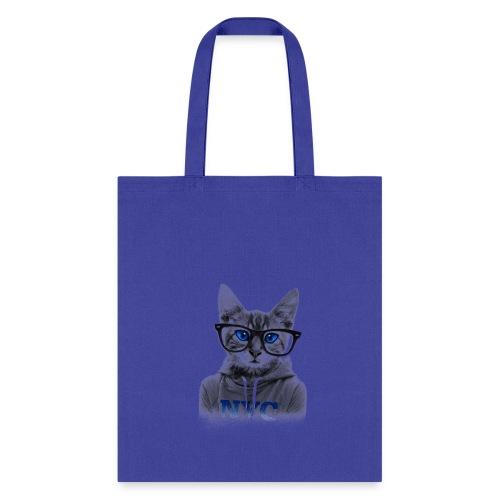Blue Eyes Cat - Tote Bag