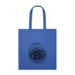 #Momlife MomLife Outfit - Scratch Art Design - Tote Bag