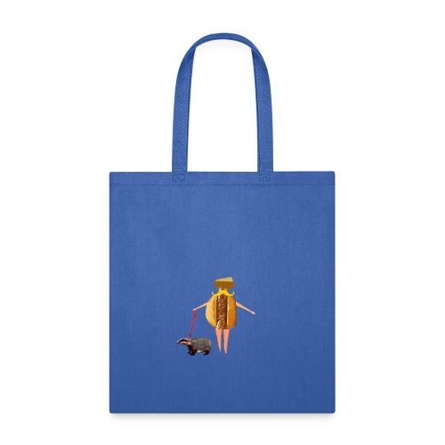 Wisconsin fan Brat, Cheese and Badger Pet - Tote Bag