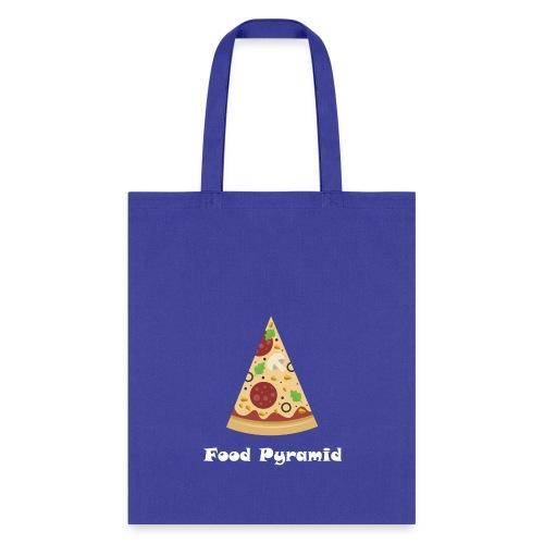 My Food Pyramid, Food Pyramid Shirt, Pizza, Pizza - Tote Bag