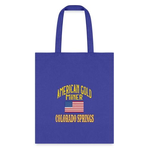 AMERICA GOLD MINER - Tote Bag