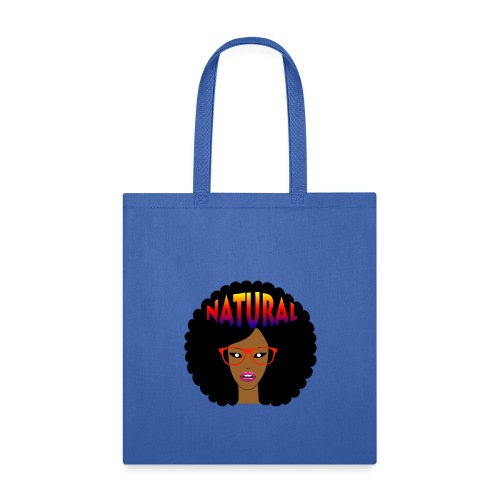 Afro Hair Red Glasses T-shirt - Tote Bag