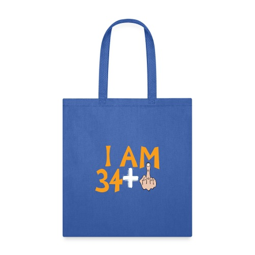 35th Birthday Gift Ideas Funny Born 35 Years Old - Tote Bag